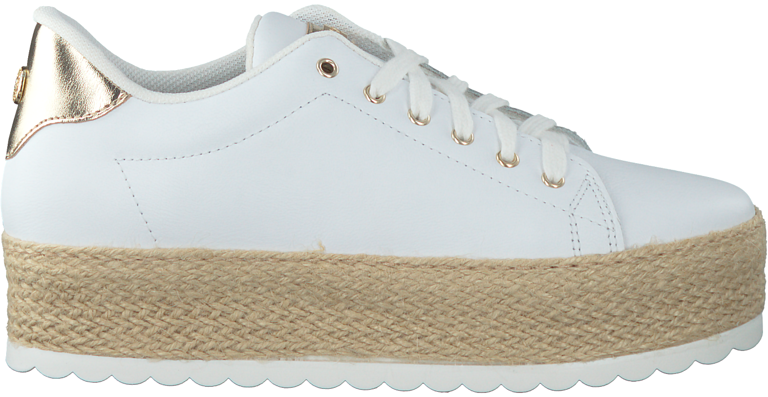 54abd303220 witte GUESS Sneakers FLMRM2 - Omoda.be
