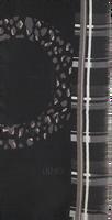 Zwarte LIU JO Sjaal STOLA MIX PRINT - medium