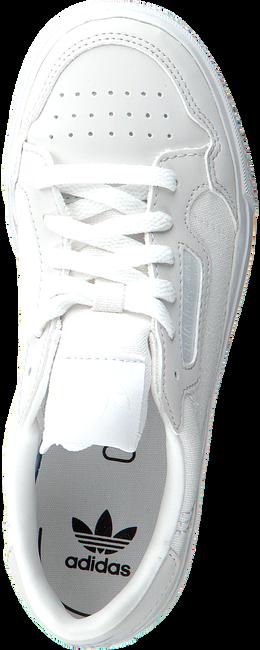 ADIDAS Baskets basses CONTINENTAL VULC J en blanc  - large
