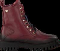 TOMMY HILFIGER Bottines à lacets SHADED TH BOOTIE en rouge  - medium
