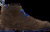 FLORIS VAN BOMMEL Bottines à lacets 10506 en taupe  - small
