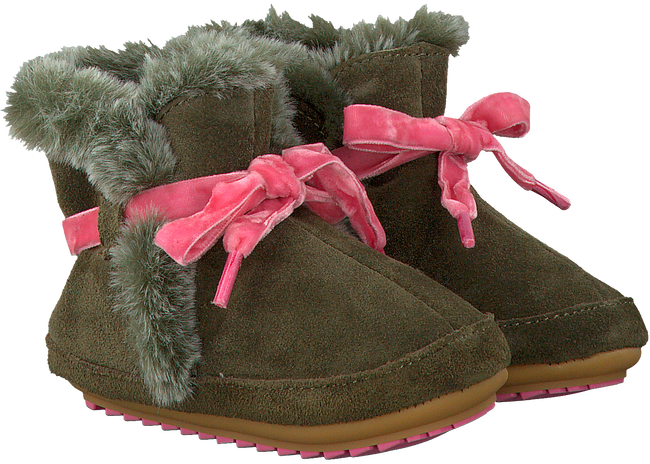 VINGINO Chaussures bébé SAMMI en vert - large