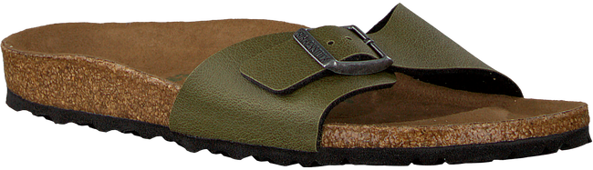 BIRKENSTOCK PAPILLIO Tongs MADRID en vert - large