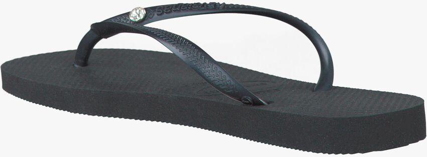 HAVAIANAS Tongs SLIM CRYSTAL GLAMOUR en noir - larger