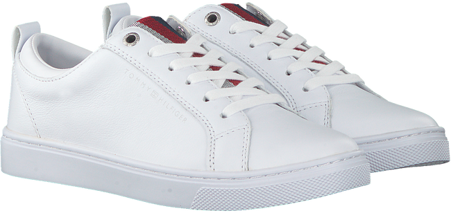 TOMMY HILFIGER Baskets basses CASUAL CORPORATE en blanc  - large