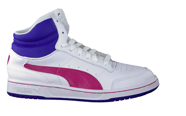 PUMA Baskets 353999 en blanc - large