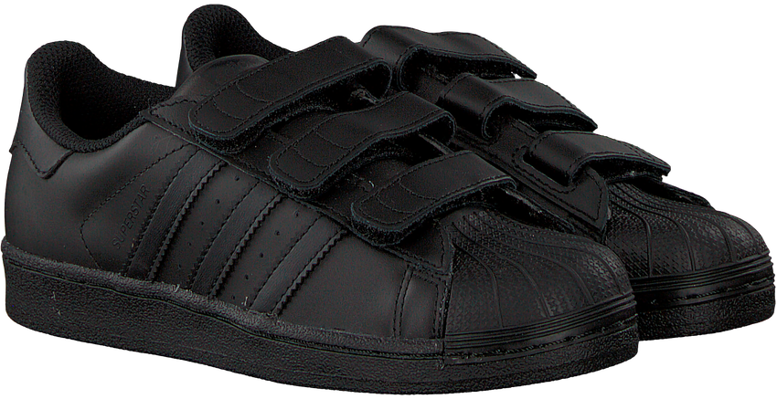 Zwarte ADIDAS Sneakers SUPERSTAR FOUNDATION - larger