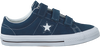 CONVERSE Baskets ONE STAR 3V OX en bleu - small