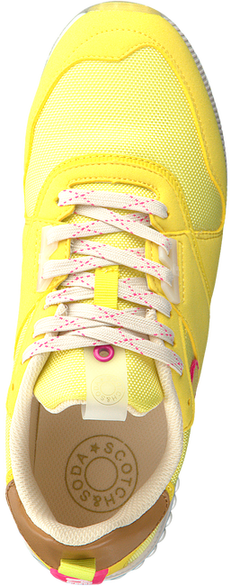 SCOTCH & SODA Baskets basses VIVI en jaune  - large
