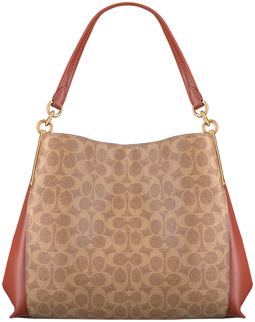 COACH Sac à main DALTON 31 SHOULDER BAG en cognac  - large
