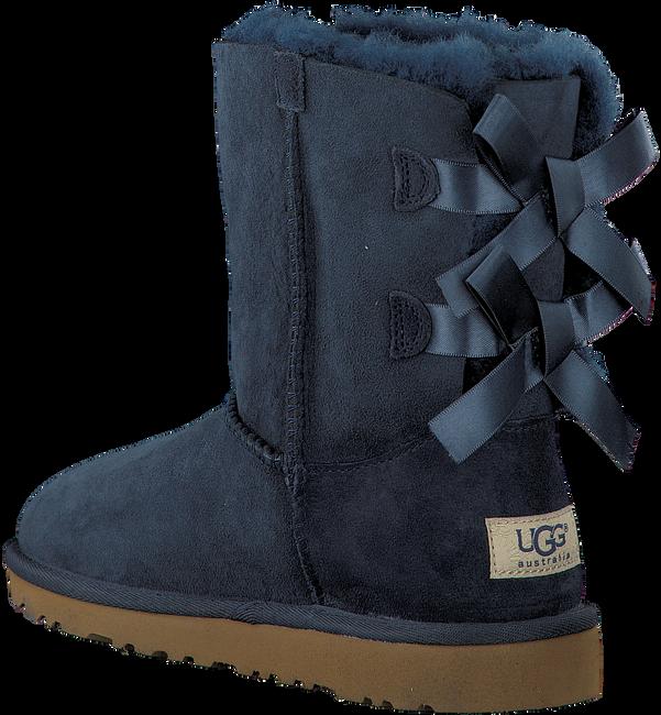 UGG Bottes fourrure BAILEY BOW en bleu - large