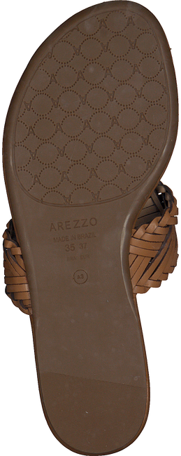 AREZZO Tongs A0327401070001U en beige  - large