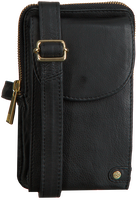 Zwarte DEPECHE Schoudertas 14300 - medium