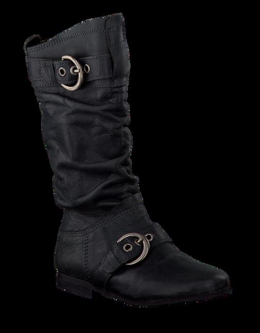 Zwarte GIGA Lange laarzen 8681  - large