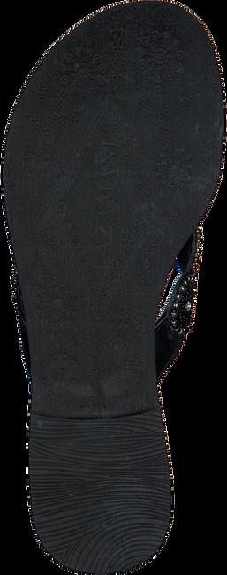 LAZAMANI Tongs 75.451 en noir - large