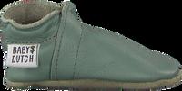 BABY DUTCH Chaussures bébé BABYSLOFJE en vert  - medium