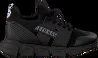 Zwarte RED-RAG Lage sneakers 13257  - medium