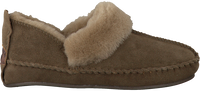 Groene WARMBAT Pantoffels POLARFOX WOMEN SUEDE - medium