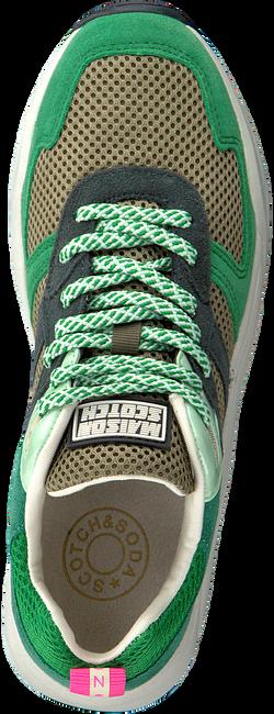 SCOTCH & SODA Baskets basses CELEST en vert  - large