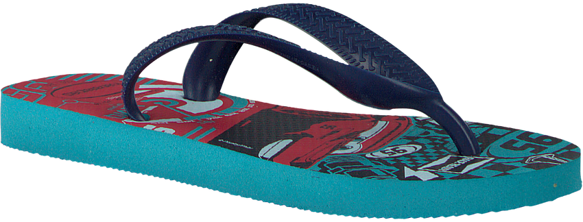 blauwe HAVAIANAS Slippers CARS  - larger
