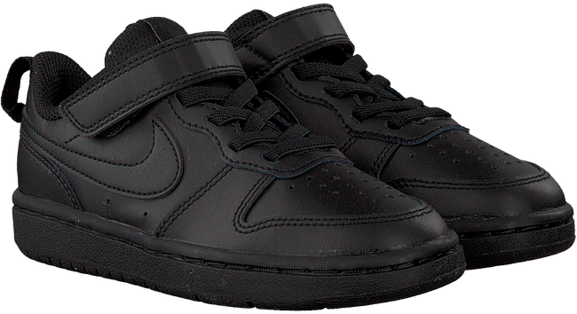 NIKE Baskets montantes COURT BOROUGH MID WINTER KIDS en noir  - large