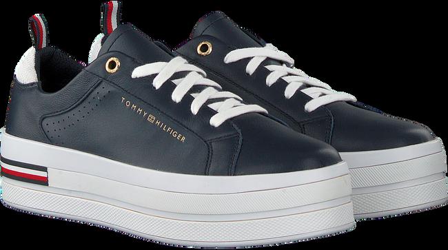 Blauwe TOMMY HILFIGER Lage sneakers MODERN FLATFORM  - large
