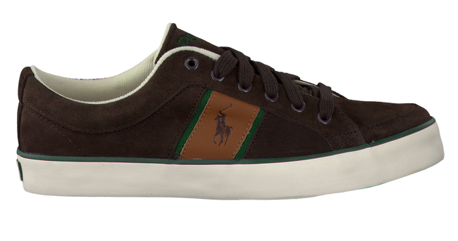 POLO RALPH LAUREN Baskets BOLINGBROOK II en marron - large