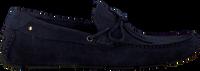 MAZZELTOV. Loafers 34902 en bleu  - medium