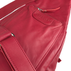 EST'SEVEN Sac bandoulière EST' LEATHER BAG MIREL en rouge  - small