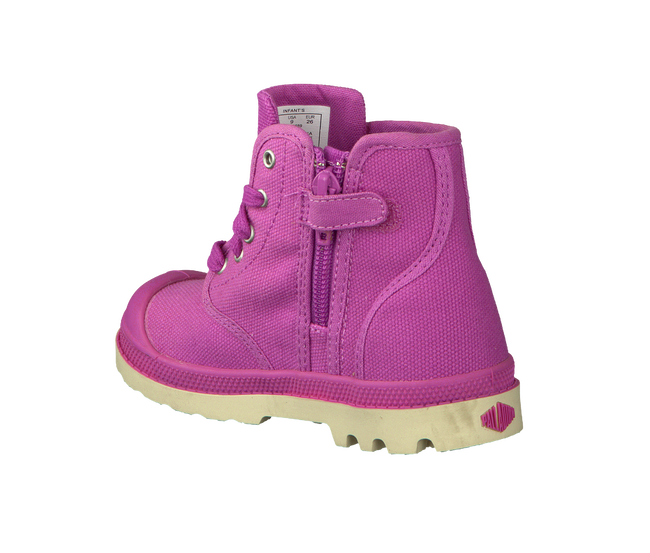 PALLADIUM Bottillons PAMPA HI KIDS en rose - large