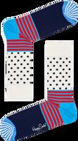 HAPPY SOCKS Chaussettes STRIPES & DOT SOCK en blanc  - medium