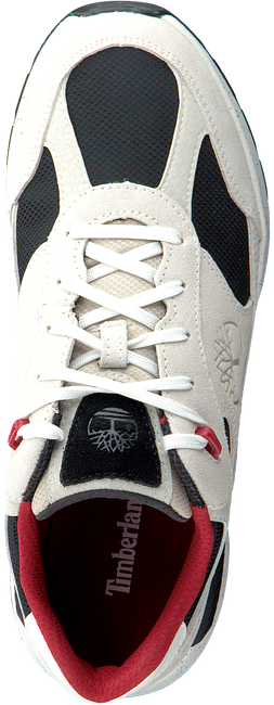 TIMBERLAND Baskets basses FIELD TREKKER LOW en blanc  - large