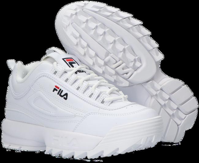 FILA Baskets 1010567 DISRUPTOR KDS en blanc - large