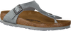 grey BIRKENSTOCK PAPILLIO shoe GIZEH ANIMAL FASCINATION  - small