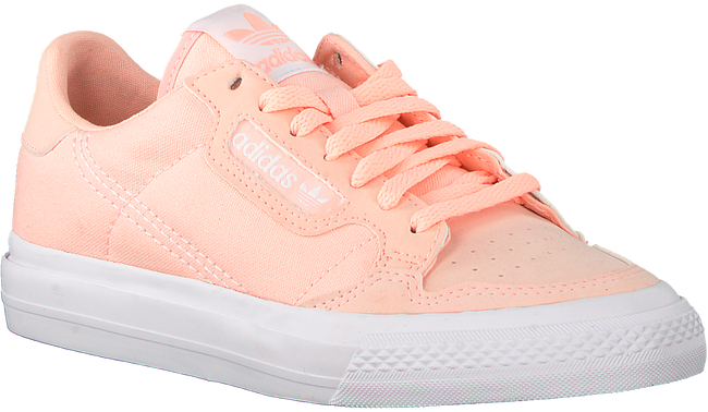 ADIDAS Baskets basses CONTINENTAL VULC J en rose  - large