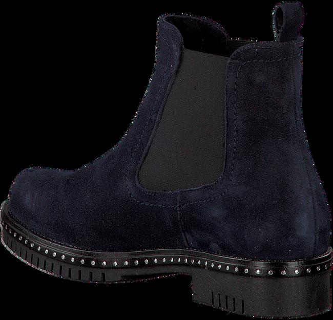Blauwe OMODA Chelsea boots 74B-010  - large
