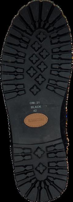 BLACKSTONE Bottes hautes OM21 en noir - large