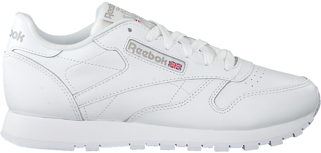 REEBOK Baskets CL LEATHER WMN en blanc - large
