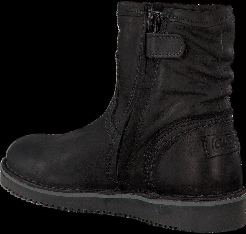 GIGA Bottines 8704 en noir - larger