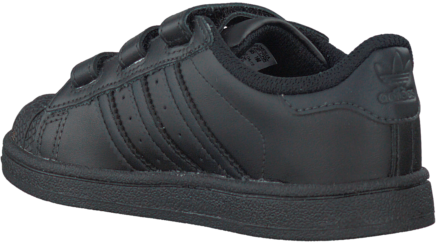 zwarte adidas sneakers superstar cf