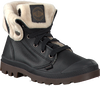 Black PALLADIUM shoe BAGGY LEATHER  - small