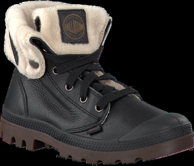 Black PALLADIUM shoe BAGGY LEATHER  - large