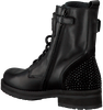 HIP Bottines à lacets H1846 en noir - small