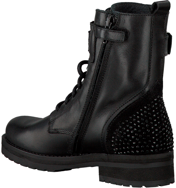 HIP Bottines à lacets H1846 en noir - large