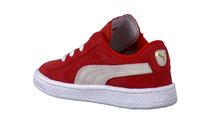 PUMA Baskets 355116 en rouge - large