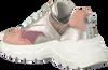 Zilveren RED-RAG Lage sneakers 13282  - small