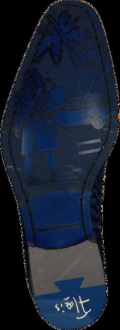 Blauwe FLORIS VAN BOMMEL Nette schoenen 18159  - large