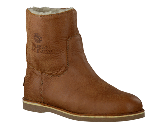 SHABBIES Bottines 202024 en cognac - large