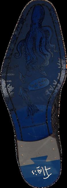 FLORIS VAN BOMMEL Richelieus 18159 en gris  - large