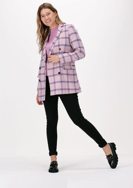 SCOTCH & SODA Blazer HOUNDSTOOTH CHECKED CLASSIC DO en rose  - large